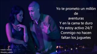Becky G - Mayores ft. Bad Bunny (lyrics/letra)