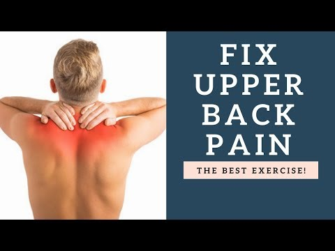 BEST Exercise For Upper Back Pain Relief and Improved Posture