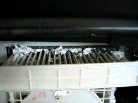 Toyota Prius Mouse Nest in the Cabin Filter