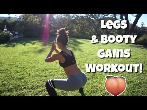 Leg and Booty Gains Workout!