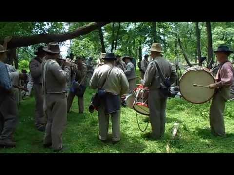 26th NC Fife and Drums at the 150th Gettysburg performing Washington Artillery March