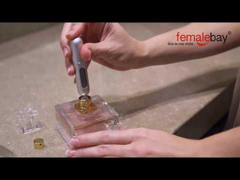 Travel Mini Refillable Portable Empty Atomizer Perfume Bottles