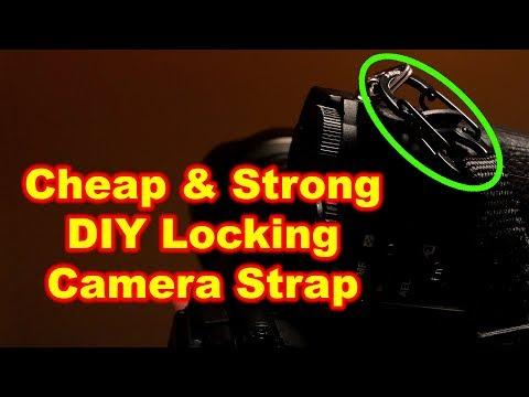 Cheap DIY Camera Strap Quick Release