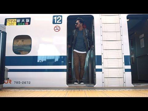 TOKYO TO OSAKA ON SHINKANSEN