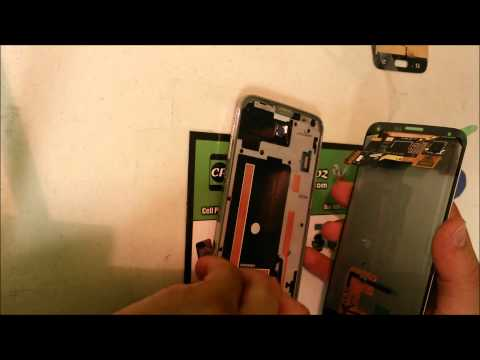 Samsung Galaxy S5 LCD Glass Screen Replacement   Take Apart