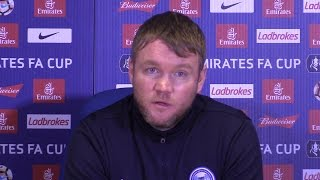 Chelsea 4-1 Peterborough - Grant McCann Full Post Match Press Conference - FA Cup