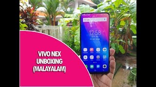 Vivo Nex Unboxing with Elevating Camera and Camera Samples in മലയാളം