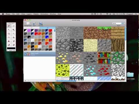 Make your own Minecraft texture pack: Mac OS X