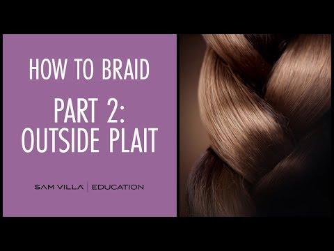 How To Braid Hair | Part 2: Outside Plait
