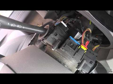 2008 Chevy Malibu multifunction switch removal