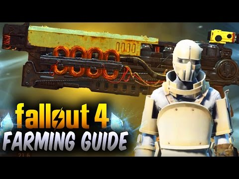 Fallout 4 Rare Legendary Armor & Weapons - Enemy Loot Re-Roll Trick/Guide ! (Fallout 4 Rare Weapons)