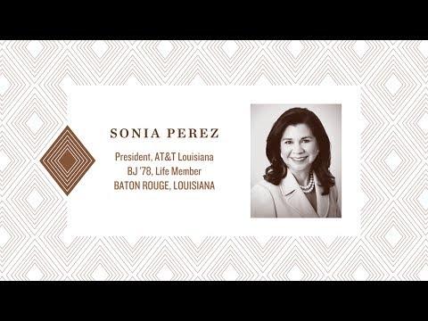 2017 Distinguished Alumna: Sonia Pérez