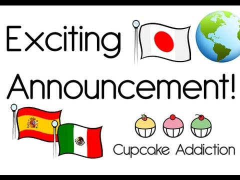 Now in SPANISH and JAPANESE! Learn how to make Cupcakes in Spanish & Japanese on our new channels!