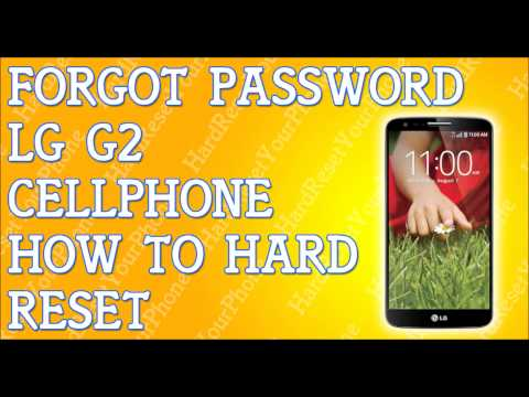 Forgot Password LG G2 How To Hard Reset