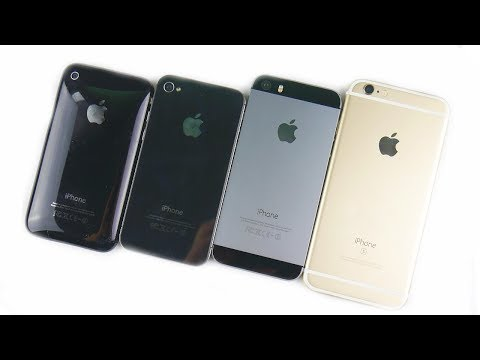 iPhone 3GS vs iPhone 4S vs iPhone 5S vs iPhone 6S: The History Of iPhone S Line