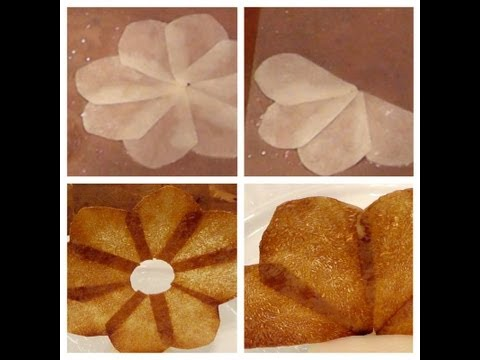 How to - Potato Garnish - Food Decoration - Plating Garnishes - Food Presentation - Cooking Classes