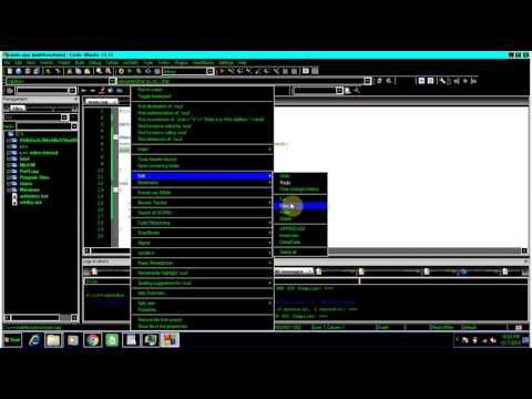 menu driven programs