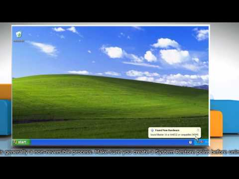 How to Fix Device Manager error code 18 in Windows XP