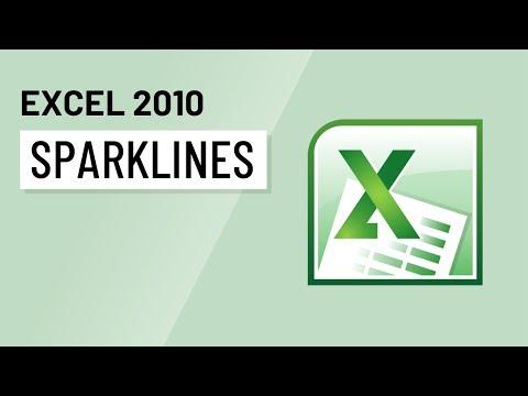 Excel 2010: Sparklines