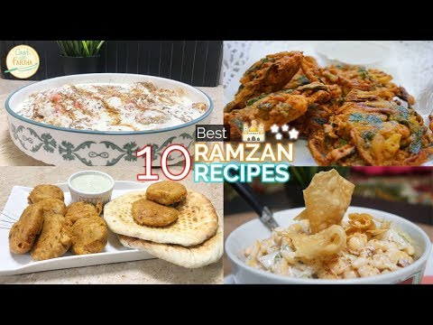 10 Best Ramzan Recipes By Cook With Fariha