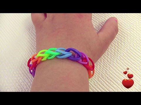rainbow bracelet rubber band