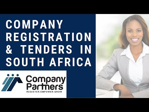 Company Registration and Tenders in SA