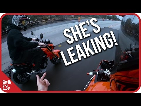 R6 leaking oil and brake fluid!!!