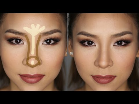 How to Contour & Highlight Your Nose in Less Than 5 minutes!