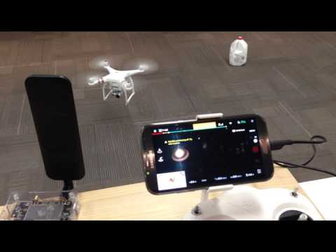 DJI GPS-Spoofing -- No Fly Zone