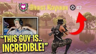 Ninja is SHOCKED When Spectating This Pro Fortnite Player...