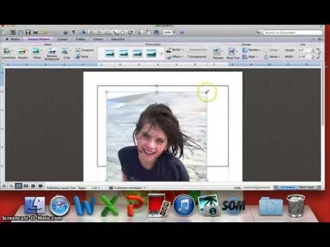 How to create a birthday invitation using Microsoft Word Part 1