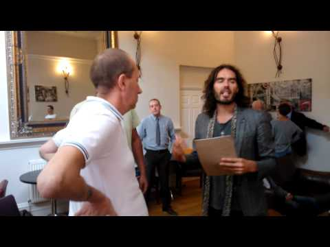 Russell Brand at the BAC in Burton