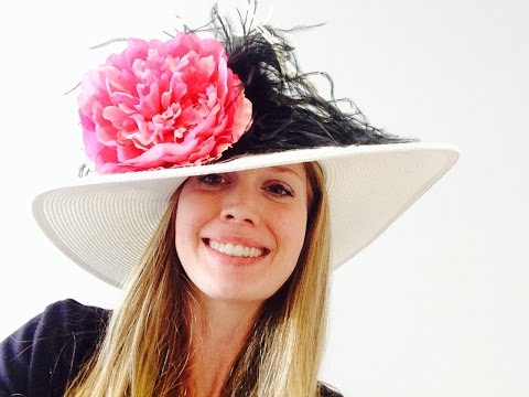 DIY How to Make a Kentucky Derby Hat - Step by Step Instructions
