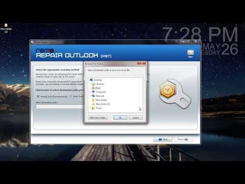How to Repair Outlook PST File using Inbox Repair Tool