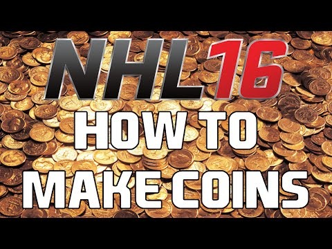 NHL 16 HUT - HOW TO MAKE COINS