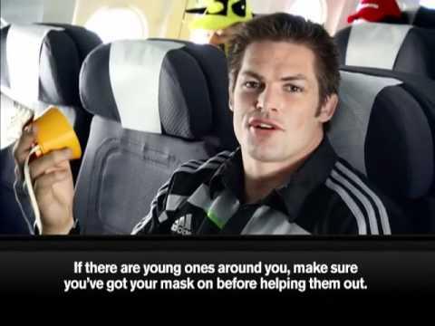 Air New Zealand Hilarious Flight Safety Video