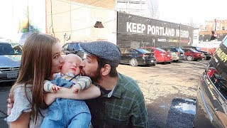 Download Chubby Reborn Baby First Outing in Real Stroller! Fun Baby Doll Roleplay! Video