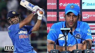 Asia Cup Final: Dhoni Reacts on finishing with a SIX