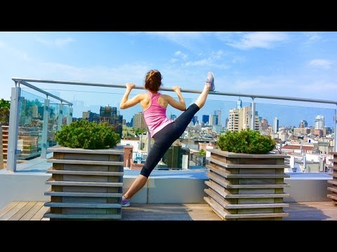 How To Get Splits FAST - NYC Ballerina Secrets. Full Length Stretching Tutorial for All Levels