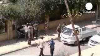 حمله تانک ها و نیروی دریایی به بندر لاذقیه سوریه -
