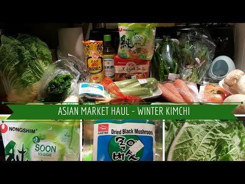 ASIAN MARKET HAUL - WINTER KIMCHI