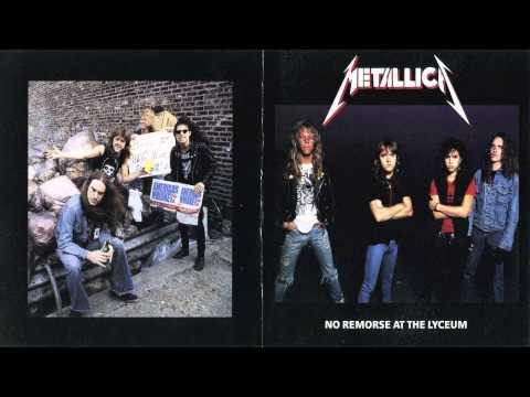 Metallica - No Remorse @ The Lyceum [Full Bootleg Album (1984)]