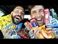 TRYING NORWAY SNACKS WITH JOSH PECK AND UGH ITS JOE