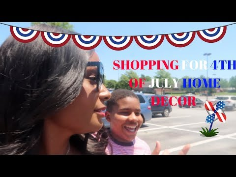 BREAKFAST WITH ANGIE IN WONDERLAND & 4TH OF JULY SHOPPING WITH AMARI