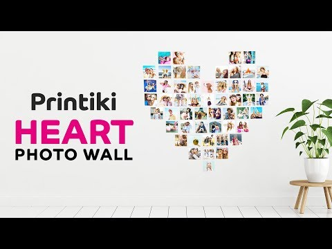 Heart Photo Wall