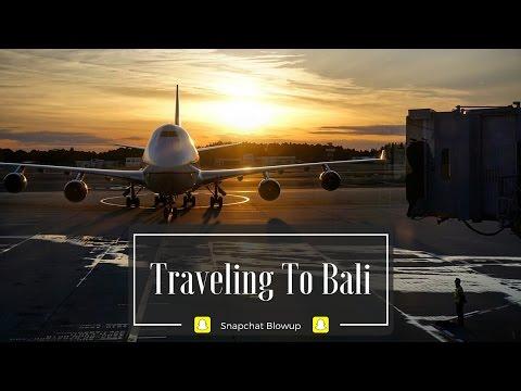 Snapchat Stories - Traveling to Bali