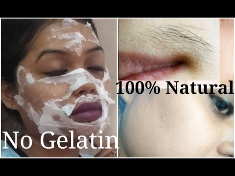 (New)How to Remove Facial Hairs Naturally at home II Indian girl jia
