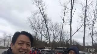 山友社 Hiking Schunemunk Mountain, March 2018