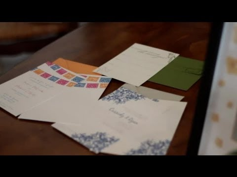 How to Make Your Own Invitations for an Engagement Party : DIY Wedding Invitations