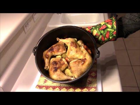Chicken Speed Meal - Dutch Oven